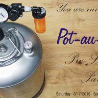 Pot-au-Brew Pre-Launch party
