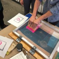 Screen Printing and DIY Portable Print Studio