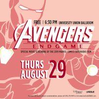 Movie Screening: Avengers Endgame