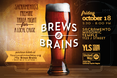Brews and Brains Trivia Night Fundraiser