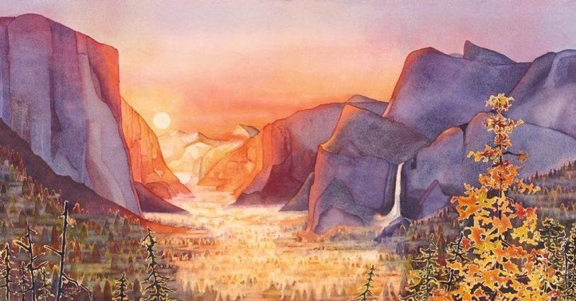 Yosemite Sunrise - Kathrine Lemke Waste