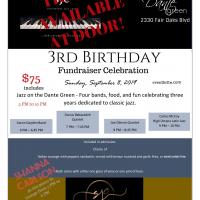 Sacramento Jazz Coop Birthday Bash