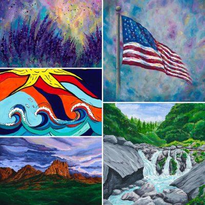 I Love Color! Tess Jones' Art Show