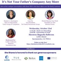 She Shares: It's Not Your Father's Company Any More
