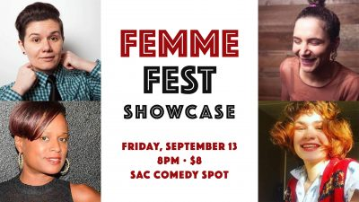 Femme Fest Stand-up Comedy Showcase