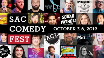 Top 10 List Podcast Live on Stage (Sac Comedy Festival)