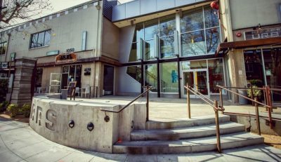 Midtown Art Retail Restaurant Scene Building