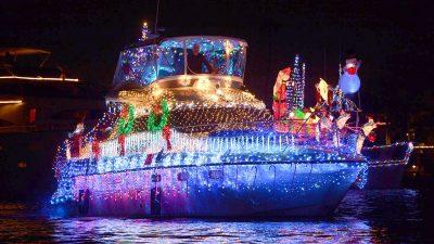 Sacramento Lighted Boat Parade