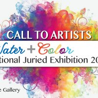 Call to Artists: Water + Color National Juried Exhibition 2020