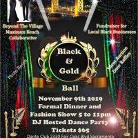 Black and Gold Ball: An Elegant Affair
