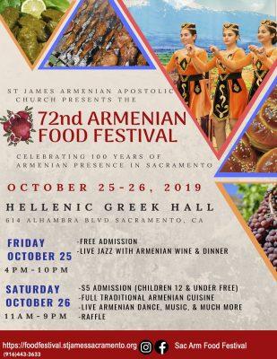 Sacramento Armenian Food Festival