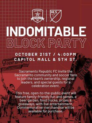 Indomitable Block Party