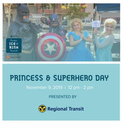 Princess and Superhero Day