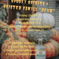 Spooky Spirits and Pfister Family Pfun