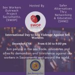 International Day to End Violence Against Sex Work...