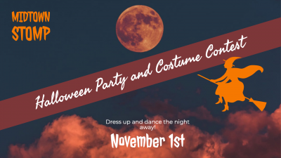 Swing Dancing Halloween Party and Costume Contest