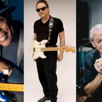 Buddy Guy, Jimmie Vaughan, and Charlie Musselwhite