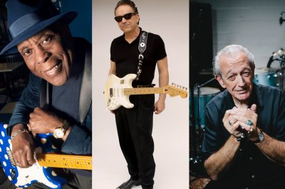 Buddy Guy, Jimmie Vaughan, and Charlie Musselwhite...