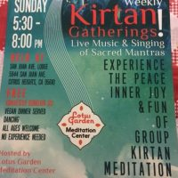 Sunday Kirtan Gathering (Postponed)