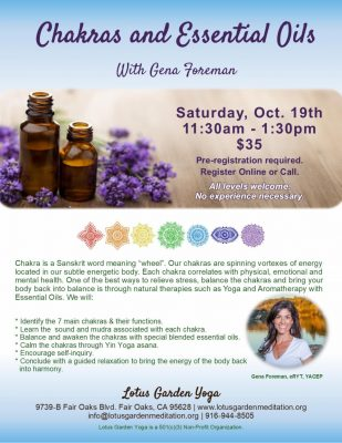 Chakras and Essential Oils