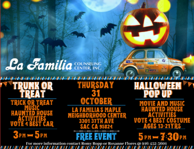 La Familia's Halloween Community Celebration