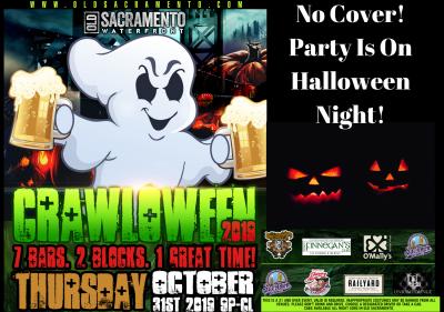 Crawloween: Old Sacramento Halloween Bar Crawl
