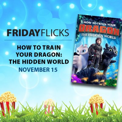 Friday Flicks: How to Train Your Dragon -- The Hid...
