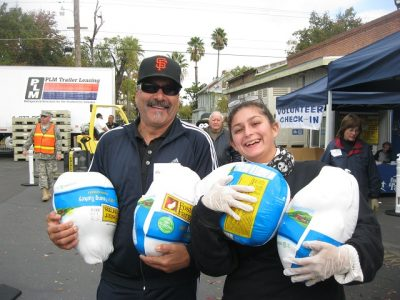 Sacramento Food Bank and Family Services Turkey Dr...