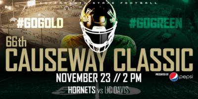 Causeway Classic: Sac State Football vs. UC Davis