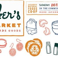 Maker's Market at Sacramento Natural Foods Co-op!