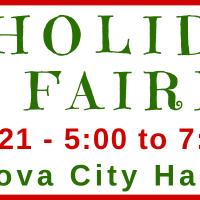 Rancho Cordova City Hall Holiday Craft Fair