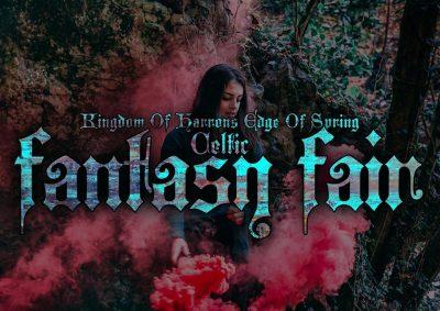 Edge Of Spring Fantasy Fair (Postponed)