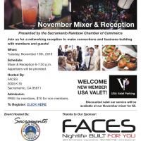 November Mixer and Reception