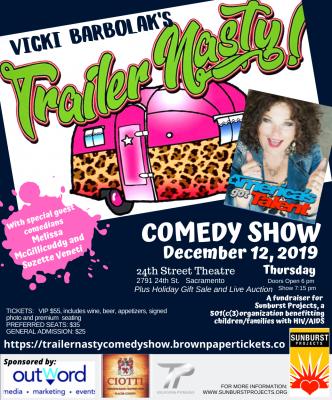 Vicki Barbolak's Trailer Nasty Comedy Show