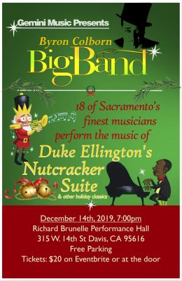 Byron Colborn Big Band presents Nutcracker Suite