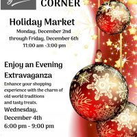 Holiday Marketplace and Crafters Corner