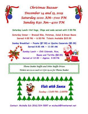 St. Paul Catholic Church Christmas Fair