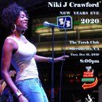 Niki J Crawford New Year's Eve 2020
