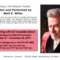 An Evening with Sir Twaddle Dreck