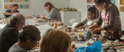 Clay Sculpture Workshop for Veterans I