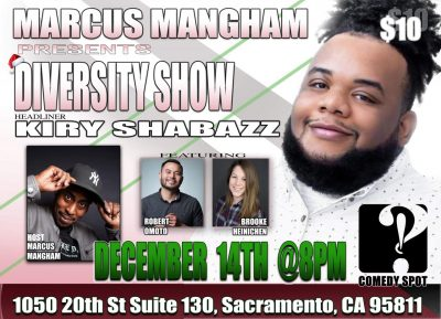 Marcus Mangam presents Diversity
