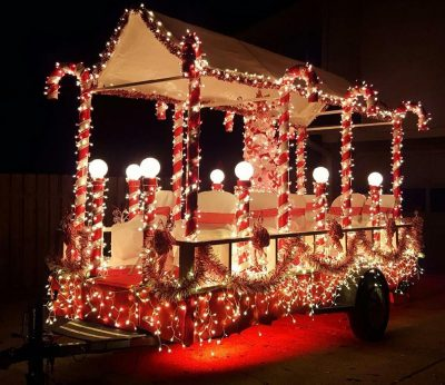 Photo courtesy of Rio Linda Elverta Christmas Light Parade.