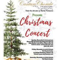 Cantare Chorale's Christmas Concert (Harris Center for the Arts)