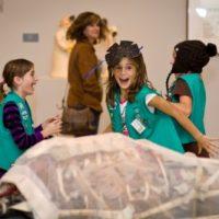 Girl Scout Badge Workshop: Brownie Painting