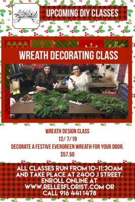 DIY Wreath Decorating Class