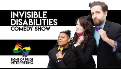 Invisible Disabilities Comedy Show (with ASL Inter...
