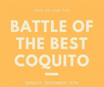 Coquito Wars: Battle of the Best Coquito