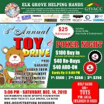 Elk Grove Helping Hand Toy Drive and Charity Poker...