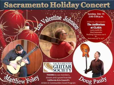 Sacramento Guitar Society Community Holiday Concer...