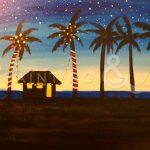 Paint and Vino: Cali Christmas